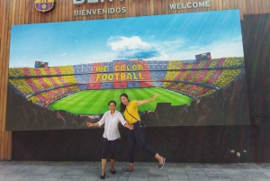 E-Bike Tour to Montjuic & Camp Nou Stadium Tour