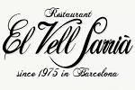 El Vell Sarrià Restaurant in Barcelona