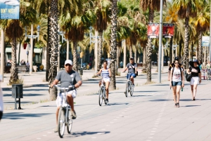 Electric Bike Tour of Montjuic and Barcelona