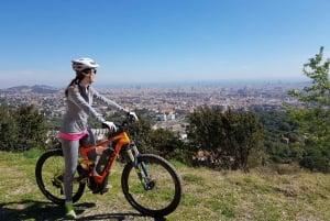 Electric Mountain Bike Ride with Panoramic Views