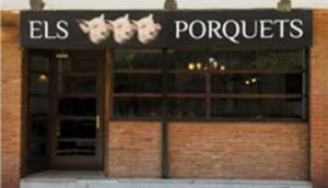 Els Tres Porquets Restaurant in Barcelona