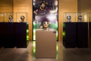 FC Barcelona Museum: Camp Nou 3-Hour Guided Tour with Tapas