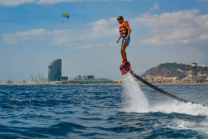 Flyboarding Adventure on the Mediterranean Sea