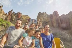 From Barcelona: PortAventura Theme Park Ticket & Transfer