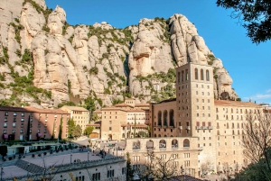 From Full-Day Montserrat & Wine Small Group Tour
