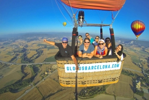 From Hot Air Balloon Flight at Sunrise