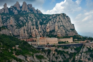 From Montserrat Monastery, Easy Hike, Cable Car