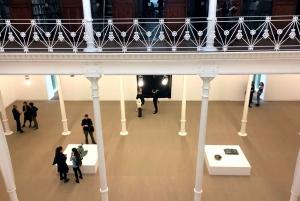 Fundació Antoni Tàpies Entrance and Exhibitions