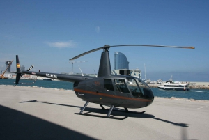 Helicopter Flight and Yacht Cruise Combo