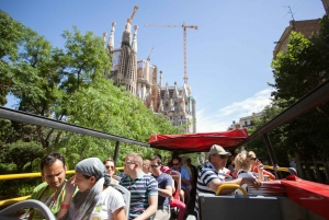 Hop-On Hop-Off Barcelona City Tour 1 or 2 Day