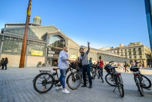 Intimate Barcelona eBike Tour with Gourmet Tapas & Wine