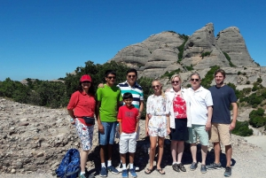 Montserrat & Sitges from Barcelona: Easy Hike, Hotel Pick-up