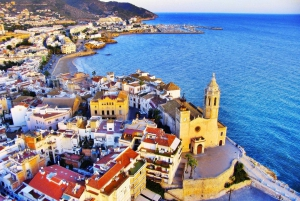 Sitges: Private 5-Hour Tour from Barcelona