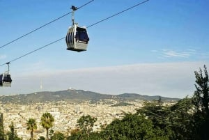 Walking tour with Montjuic Castle & Cable Car