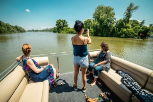 Belgrade: Sunset Sightseeing Cruise with Welcome Drink