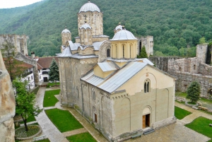 From Belgrade: Medieval Monasteries and Resava Cave Tour