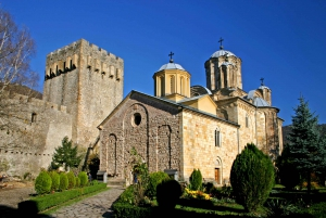 From Medieval Monasteries and Resava Cave Tour