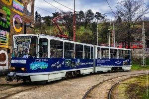Tram called Belgrade