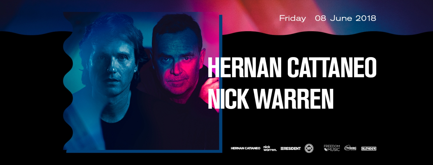 Hernan Cattaneo and Nick Warren
