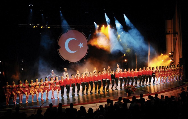 The fire of Anatolia: Dance spectacle at Sava Centar