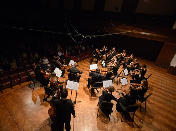The music, chamber orchestra concerts marking the 100th anniversary of the birth Leonard Bernstein