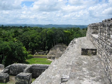 Maya mountains in Belize