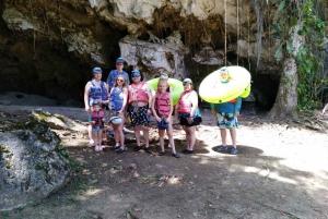 Belize Cave Tubing
