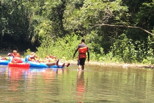 Belize City: Cave Tubing & Zipline Adventure Tour