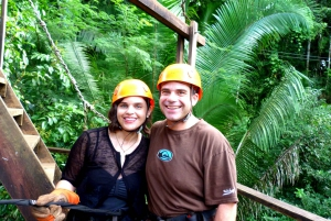 From Belize City: Zip Lining and Cave Tubing Adventure