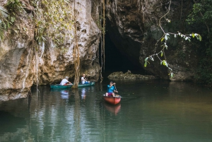 San Ignacio: Half-Day Cave Canoeing Adventure