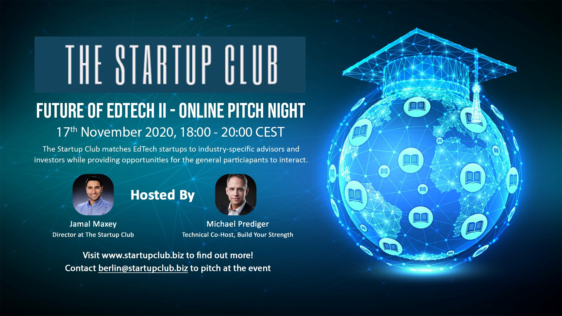 Startup Berlin Club - Online Pitch