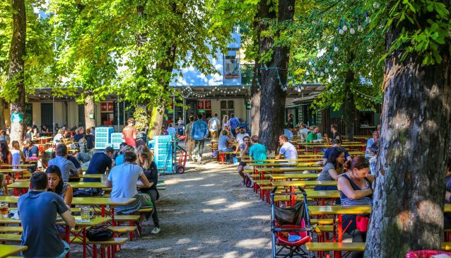 Top 10 Beer Gardens in Berlin