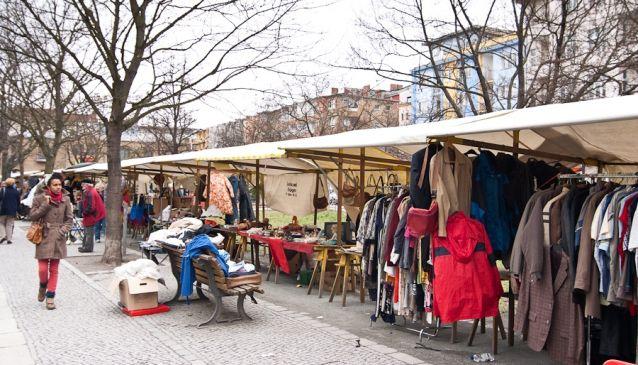 Marheinekeplatz Trödelmarkt