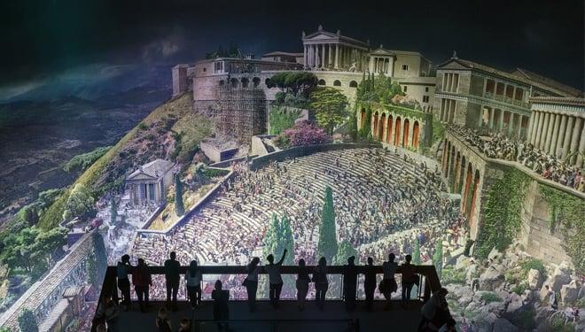 Pergamonmuseum. Das Asisi Panorama