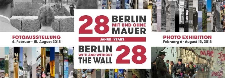 28 | 28 Twenty eight years of Berlin with and without The Wall.