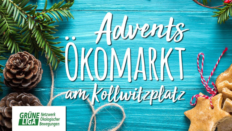 Adventsökomarkt am Kollwitzplatz