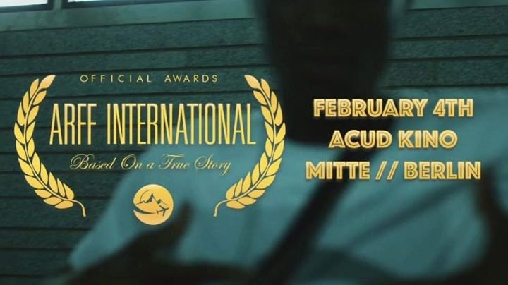 ARFF Berlin // Official Awards // Screening // After Party