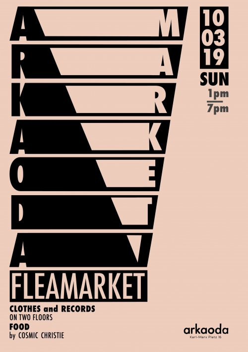 Arkaoda Fleamarket: Records / Clothes / Food