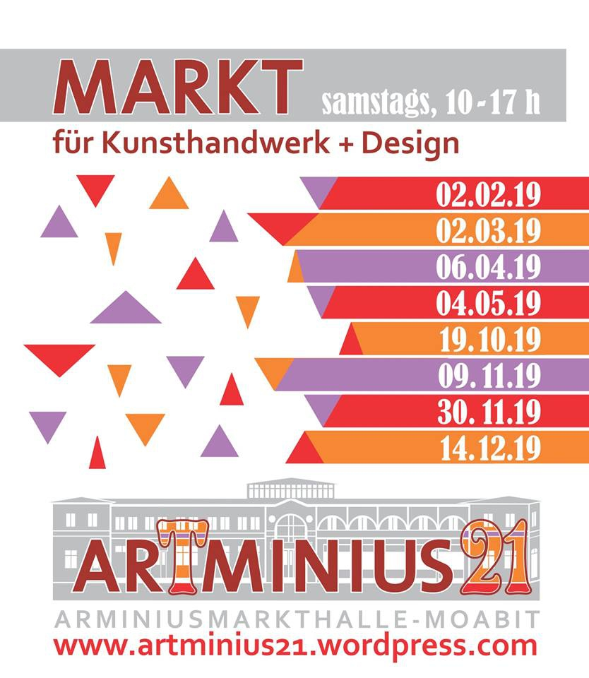 ArTminius21 - Kreativmarkt Moabit Feburary.