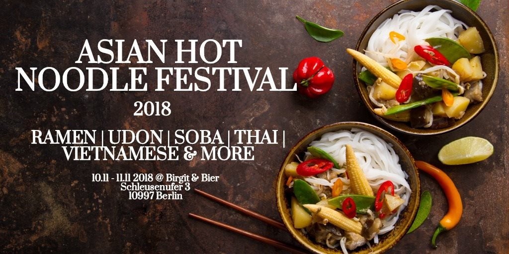 Asian Hot Noodle Festival 2018