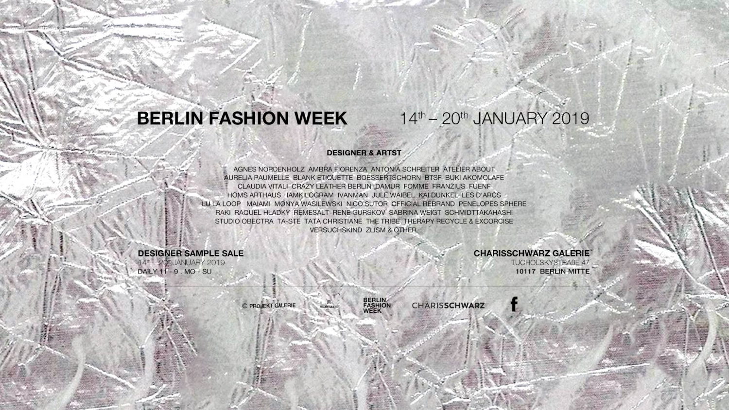 Berlin Fashion Week - Designer Sample Sale
