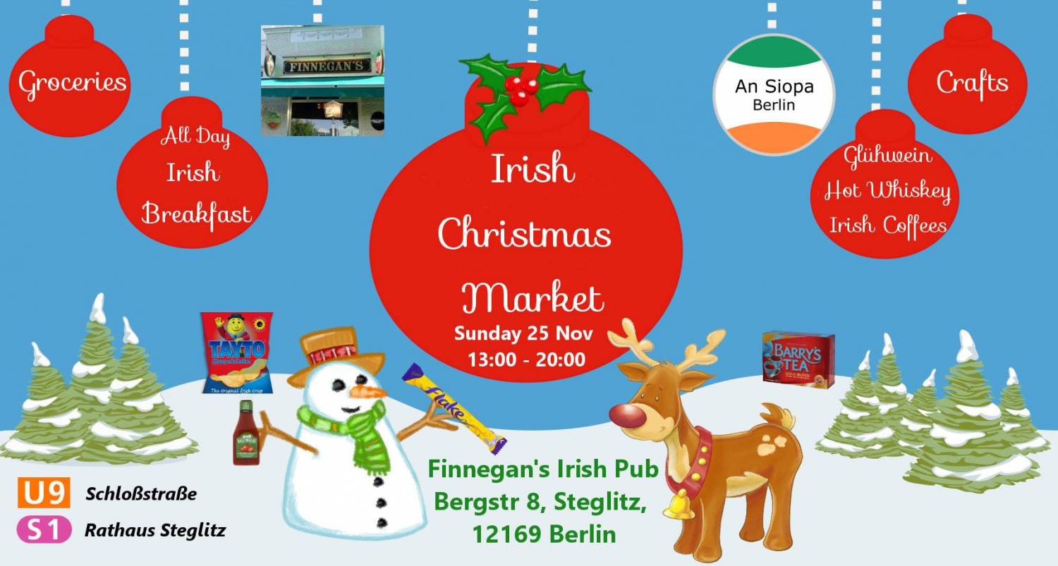 Berlin Irish Christmas Market 2018