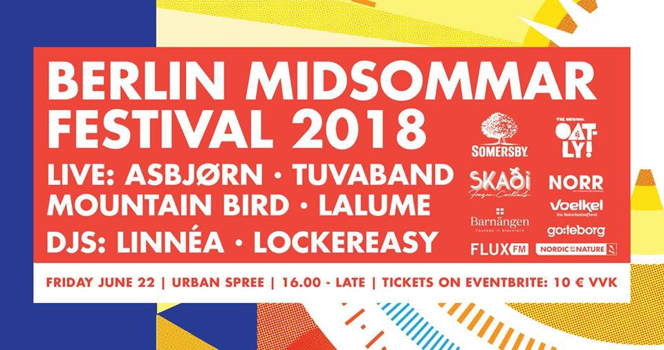 Berlin Midsommar Festival 2018