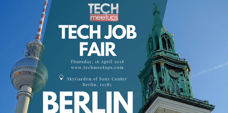 Berlin Tech Job Fair Spring 2018
