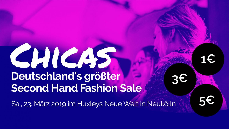 Chicas: Deutschlands größter Second Hand Fashion Sale für Frauen