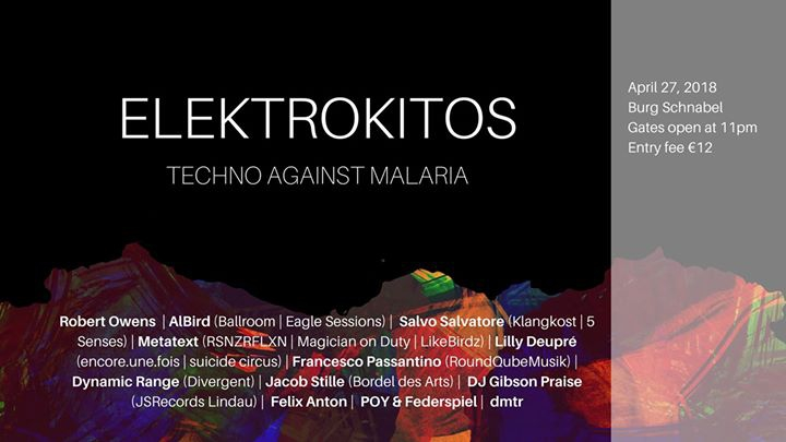 Elektrokitos - Charity Party Against Malaria