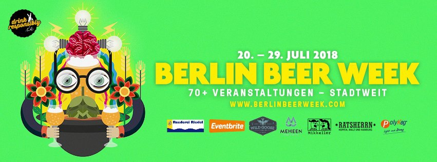 English Comedy, Craft Beer & Pizza // Berlin Beer Week