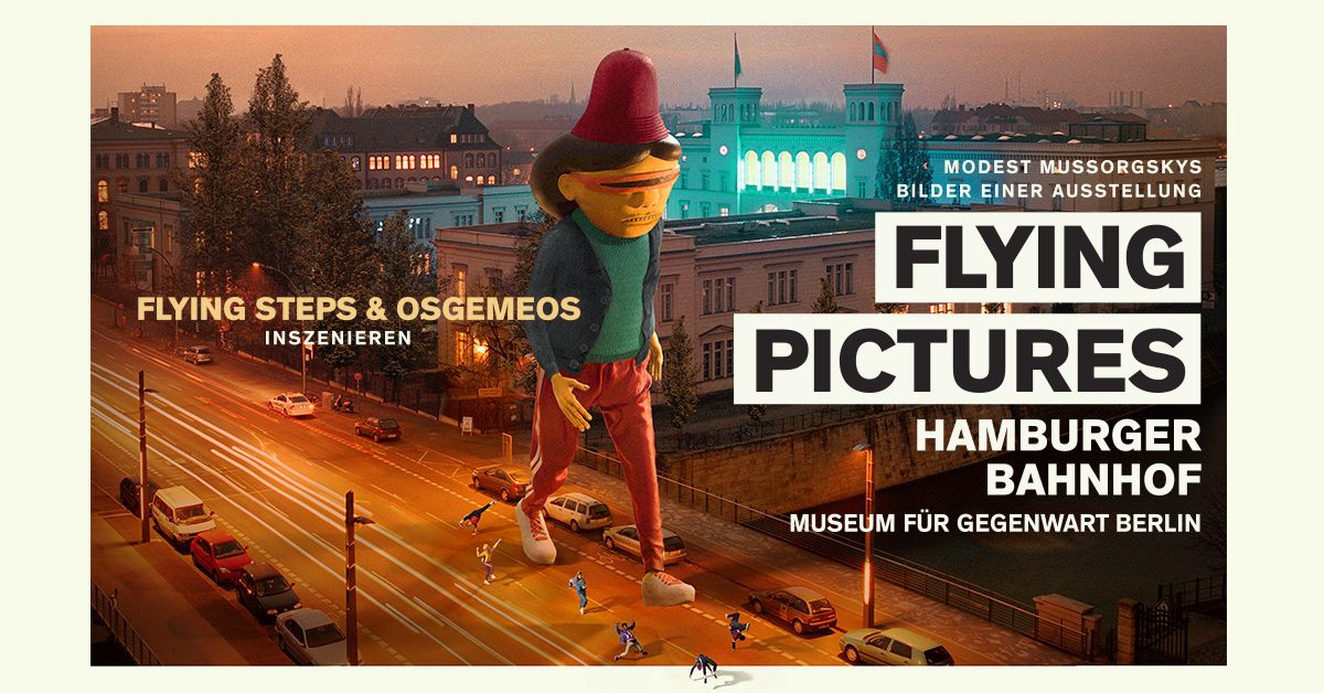 Flying Pictures - Flying Steps & Osgemeos I Berlin
