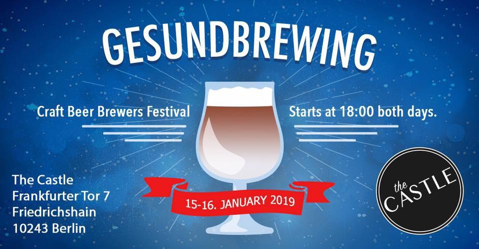 Gesundbrewing Craft Beer Brewers Festival 2019