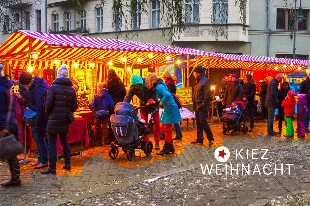 KiezWeihnacht - Weihnachtsmarkt Friedrichshain